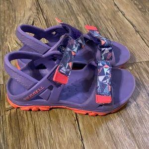 Girls Merrell Sandals